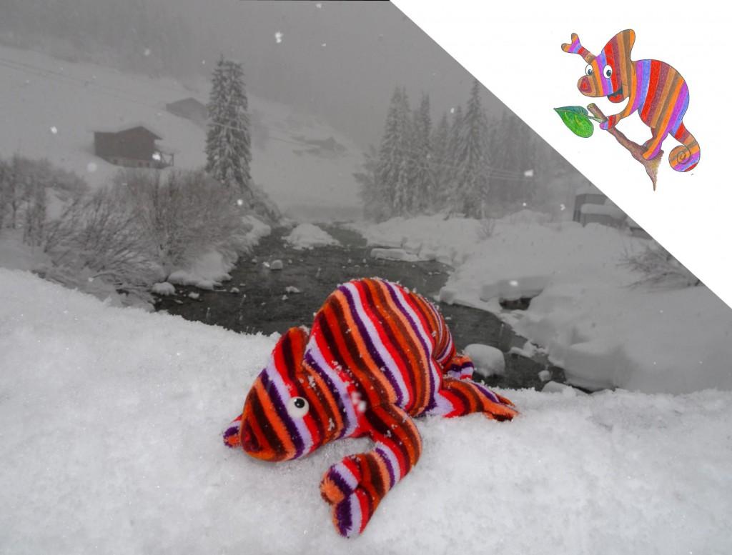 Ecki im Schnee
